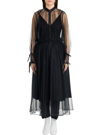 Noir Kei Ninomiya Tulle Pinafore Dress