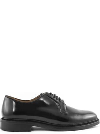Berwick 1707 Black Derby Shoes