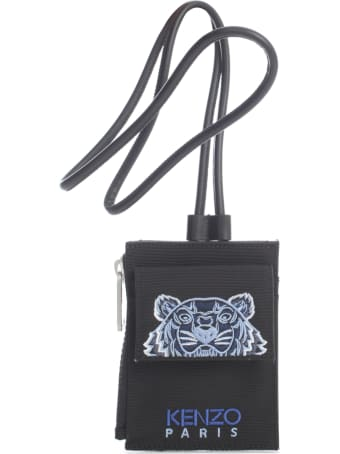 Kenzo Card Holder On Strap