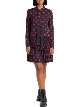 RED Valentino Hearts Printed Short Dress