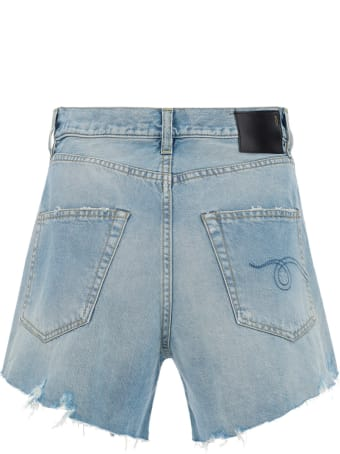 R13 Jeans Shorts