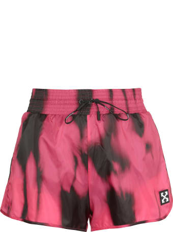 Off-White Active Tiger Dye Shorts