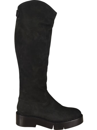 Robert Clergerie Nubuck Over-the-knee Boots