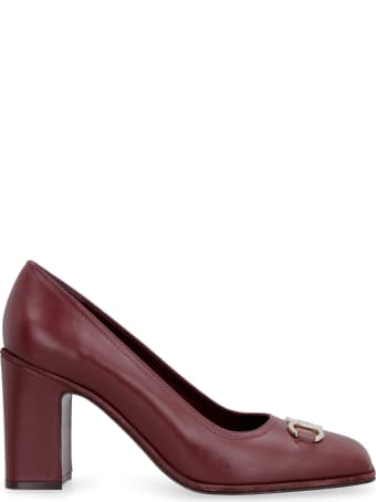 Salvatore Ferragamo Leather Pumps