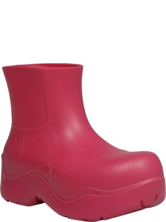Bottega Veneta Bv Puddle Rubber Boot