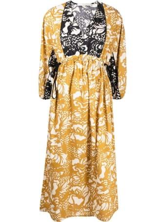 Tela Long Floral Dress