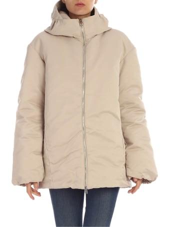 Add Oversized Hooded Jacket