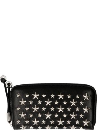 Jimmy Choo Filipa Leather Zip Around Wallet
