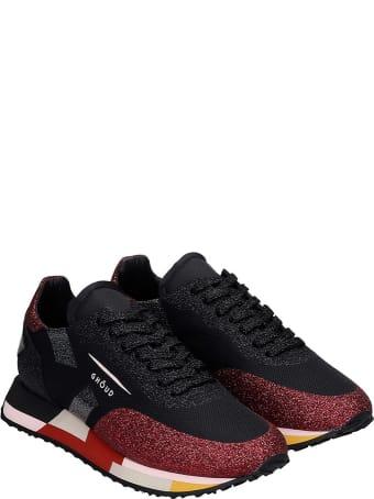GHOUD Rush  Sneakers In Black Synthetic Fibers