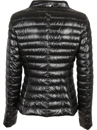 Herno High Neck Buttoned Down Jacket