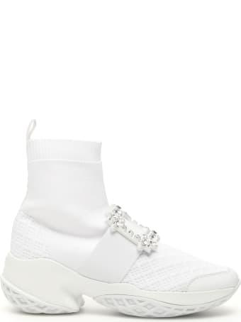 Roger Vivier Crystal Viv Run Sneakers