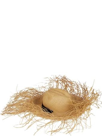 Sensi Studio Beige Straw Hat