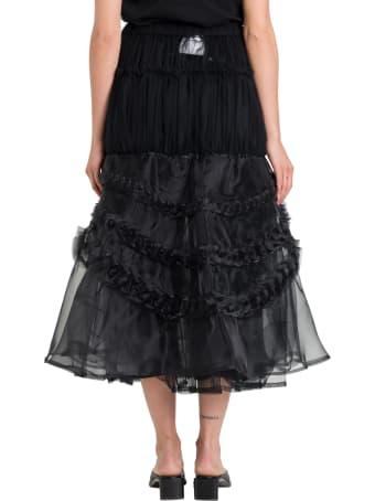 Noir Kei Ninomiya Tulle Long Skirt