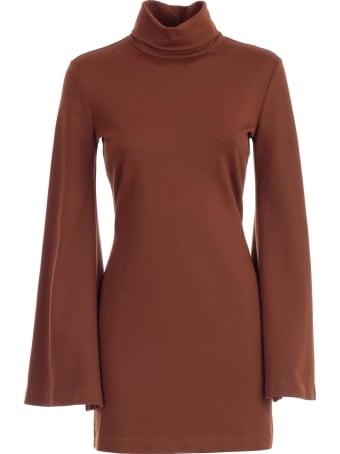 Uma Wang Dress L/s Round Neck
