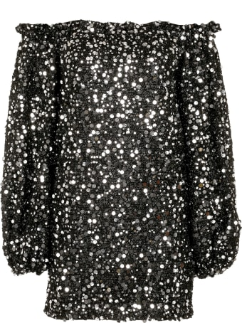 Rotate by Birger Christensen Gloria Sequin Mini-dress