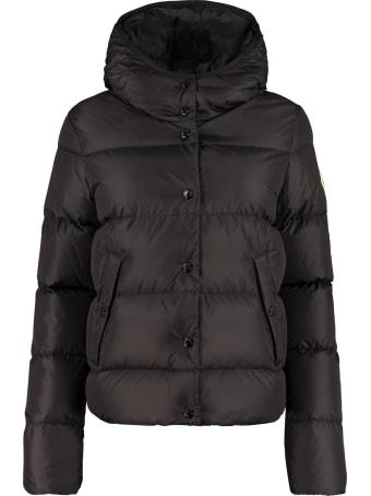Moncler Lenar Hooded Down Jacket