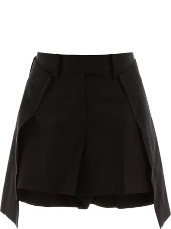 Sacai Shorts With Longer Back