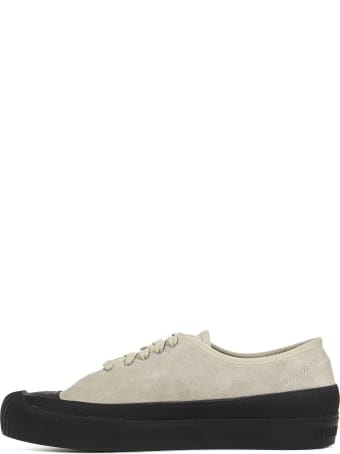Stone Island Suede Deck Sneakers