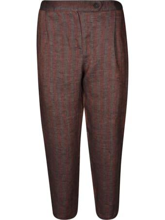 Massimo Alba Striped Trousers