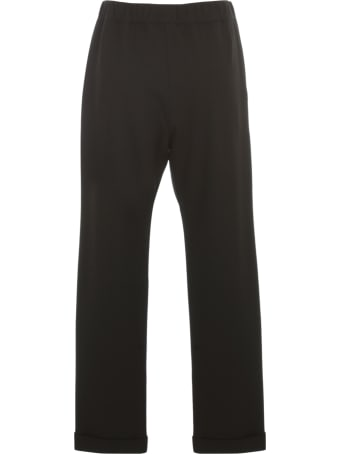 Liviana Conti Pants W/coulisse And Lapel