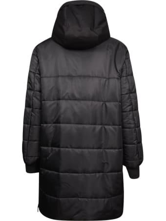 Dolce & Gabbana Multi-zipped Pocket Mid-length Padded Jacket