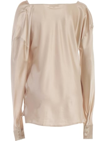 Gold Hawk Shirt L/s W/lace