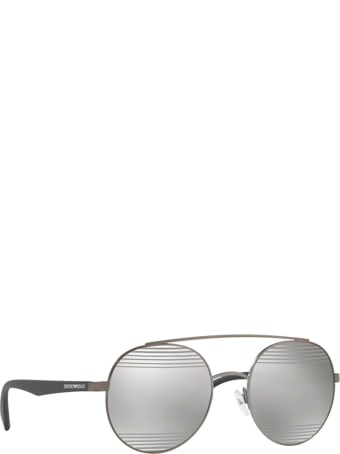Emporio Armani Emporio Armani Ea2051 Matte Gunmetal Sunglasses