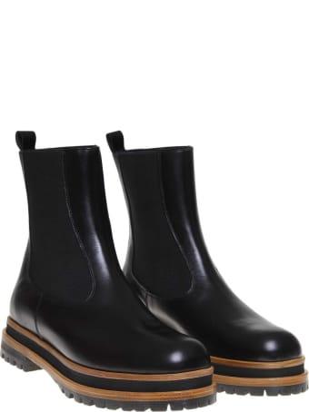 Paloma Barcelò Paloma Barcelo 'nappa Ankle Boot Color Black