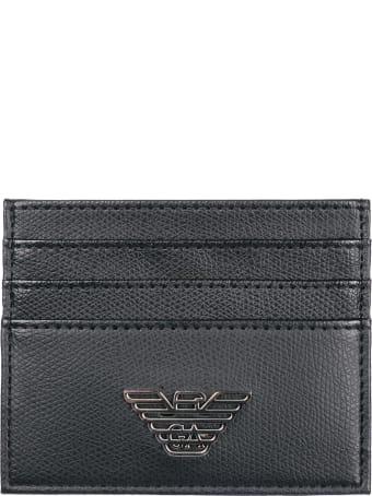 Emporio Armani  Credit Card Case Holder Wallet