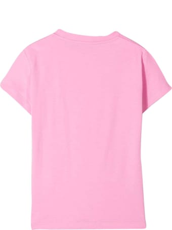 Young Versace Pink T-shirt With Print
