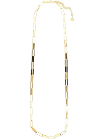The Attico Golden Brass Necklace