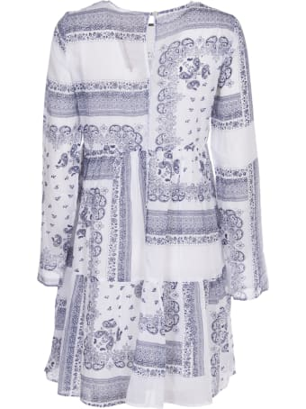 SEMICOUTURE White And Blue Dress