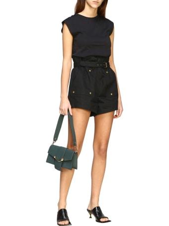 Strathberry Mini Bag Strathberry Mini Crescent Leather Shoulder Bag