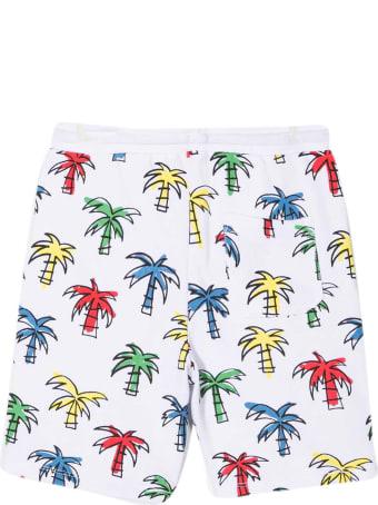 Stella McCartney White Bermuda Shorts