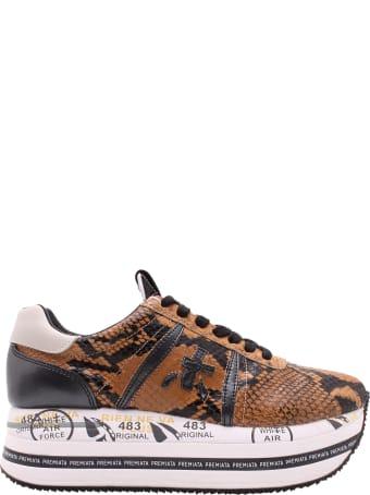 Premiata 'beth 4115' Leather Sneakers
