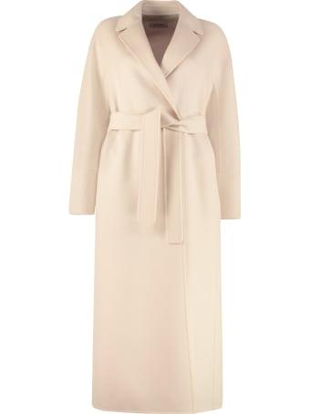'S Max Mara Aurora Virgin Wool Double-breasted Coat