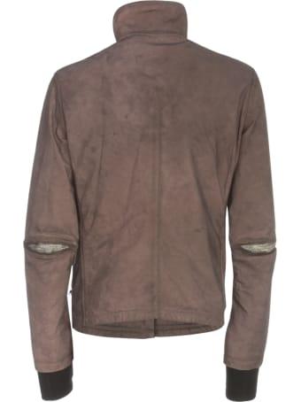 Isaac Sellam Leather Padded Jacket