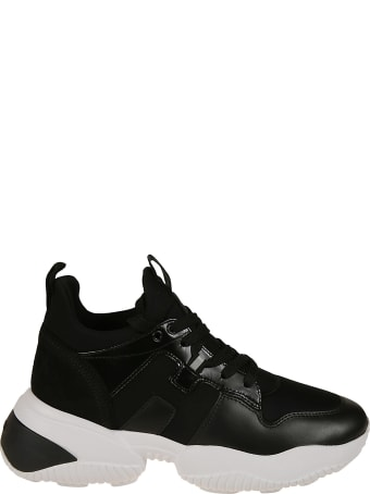 Hogan Logo Patch Hi-top Sneakers