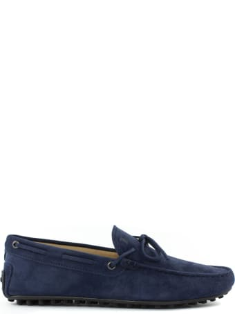 Tod's Blue Gommino Driving Shoes