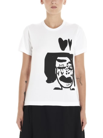 Comme des Garçons '3 Patterns By Alisa Yoffe' T-shirt