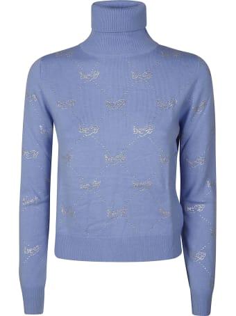 Be Blumarine Motif Detail Sweater