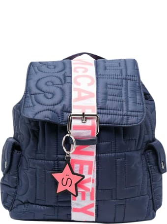 Stella McCartney Kids Blue Backpack