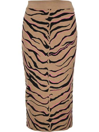 Stella McCartney Tiger Knit Skirt