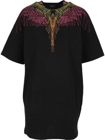 Marcelo Burlon Maxi T-shirt Dress Wings