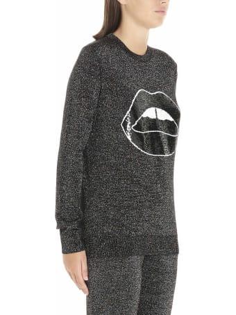 Markus Lupfer 'tracy Sequin Lara Lip Lurex' Sweatshirt