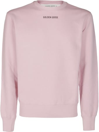 Golden Goose Pink Cotton Archibald Sweatshirt