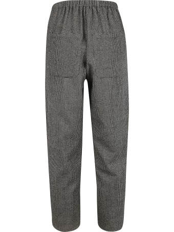 A Punto B Houndstooth Cropped Trousers
