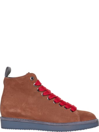 Panchic Panchic Brown Ankle Boot