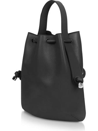Meli Melo Black Nappa Briony Mini Backpack