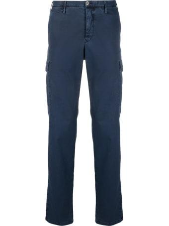 PT01 Blue Cotton Cargo Pants